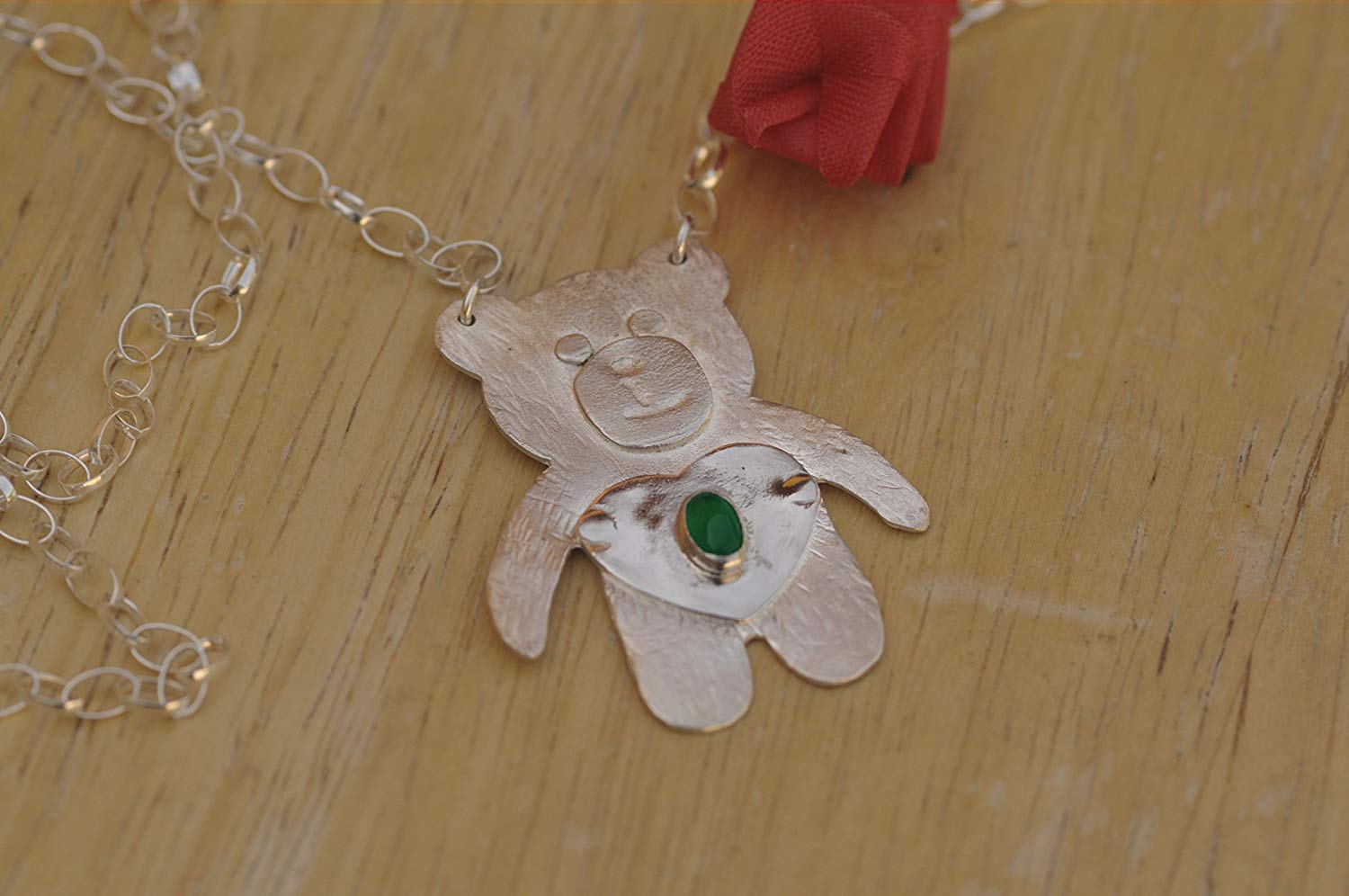 Sterling Silver 16.5in Polished Butterfly Necklace