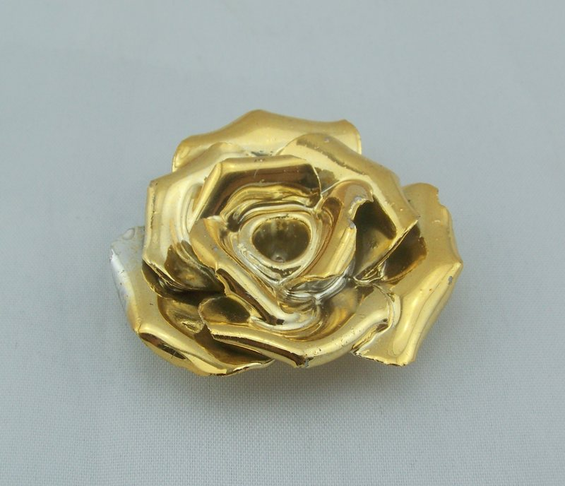 2013 latest handmade gold ceramic flowers