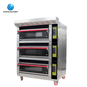 commercial electric 3tarys deck baking oven/ baking gas oven for factory price