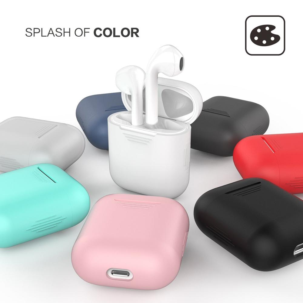 Soft Silicone Charging Case for Airpod <strong>Accessories</strong>