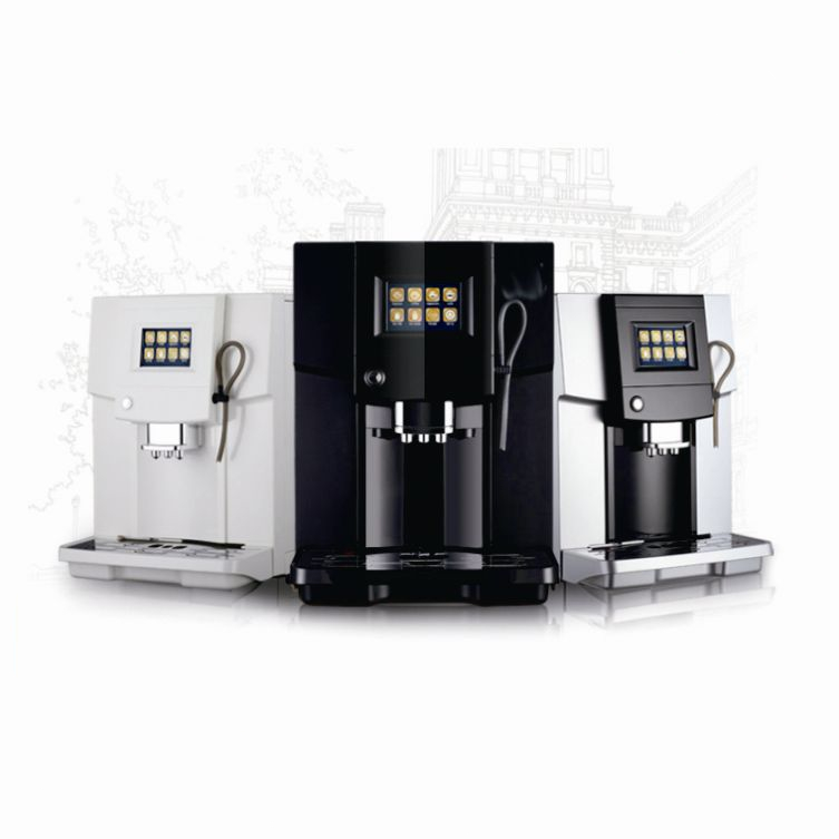 Digital Automatic Coffee Machine with Self-cleaning Function