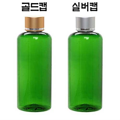 Gold&Silver Skin Cap PET 100ml Green