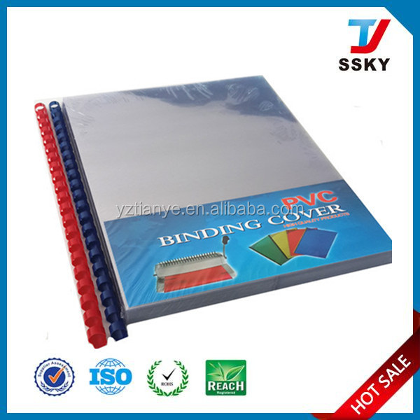 A3 plastic book cover clear book cover plastic pvc binding cover
