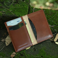 New style light brown credit card holder money clip from online shopping alibaba