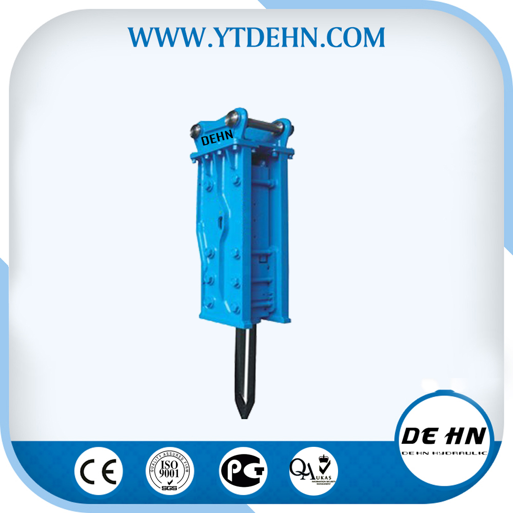 CE approved high quality factory supplied hydraulic rock breaker excavator used