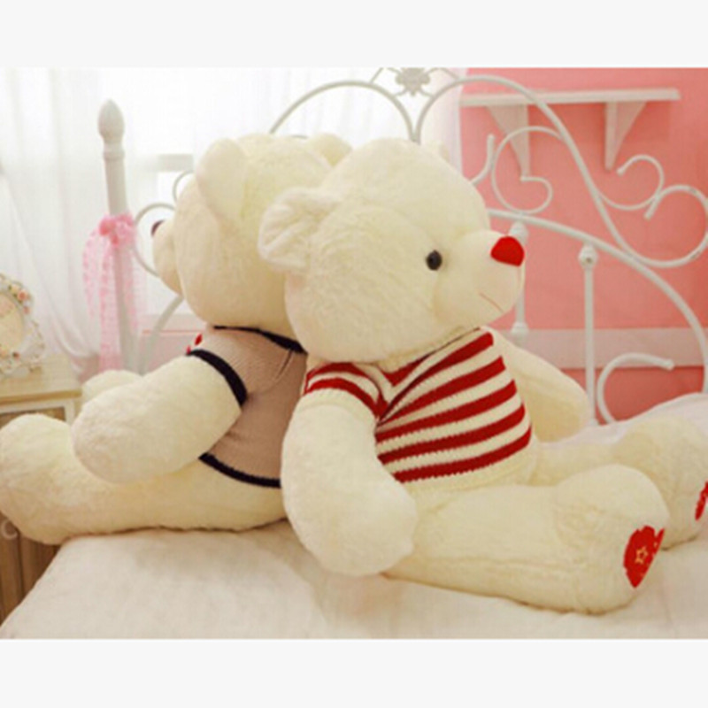 big fluffy heart bear shaped lovely hairy plush toys for lovers stuffed animals