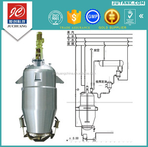 DTQ-6000L Stainless steel straight vertical type pharmaceutical extractor/extraction tank