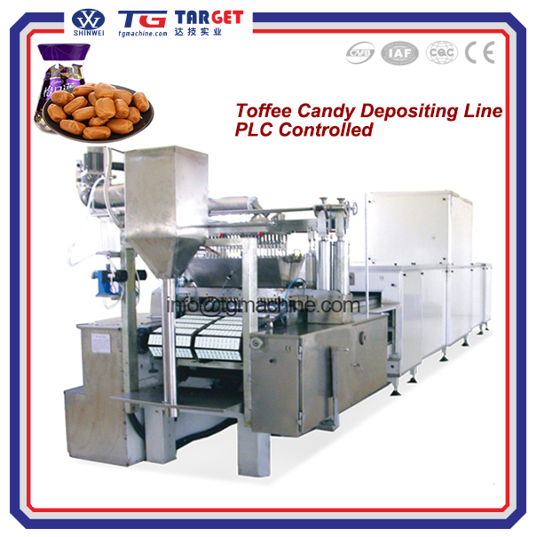 Automatic Smooth cream choco Caramel Toffee candy making machine with low price