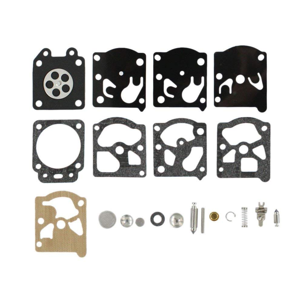 AISEN Carburetor Diaphragm Gakset Rebuild Kit for K24-WAT GE21 PE550 PP135 Gas Edger Echo GT2400