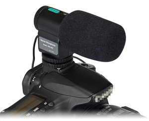 Kingma Mic109 Professional Video Broadcast Directional Condenser Microphone For Nikon For Canon For Sony For Gopros Cameras