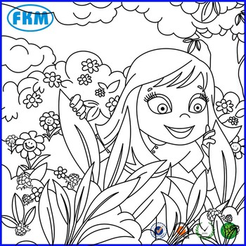 painting coloring books for adult and children drawing with shenzhen supplier