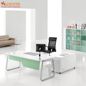 Hot sale modern L-type office boss table