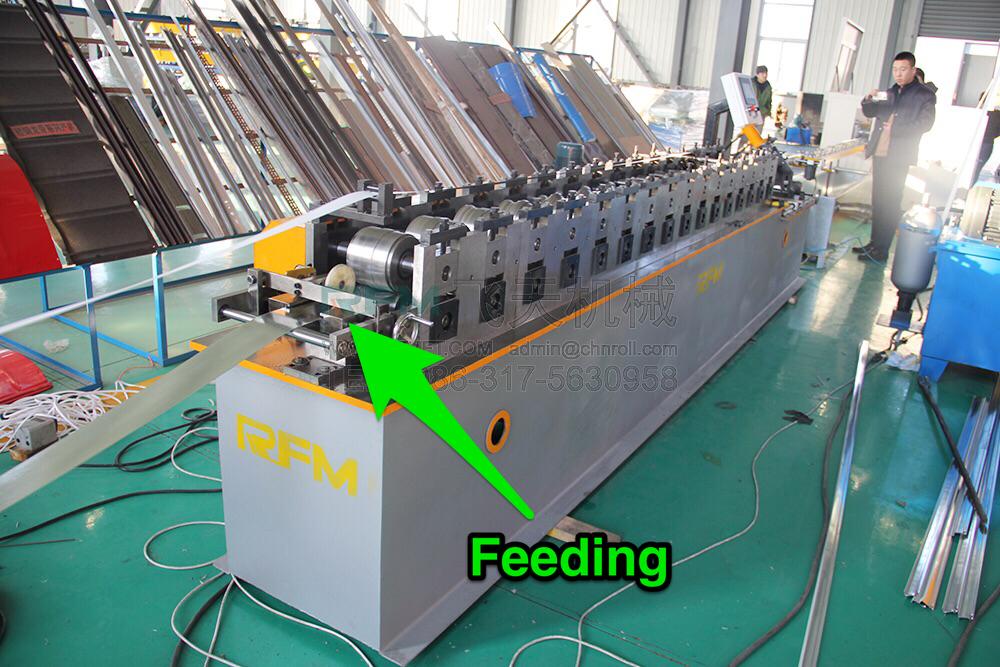 T bar main bar roll forming machine (1)