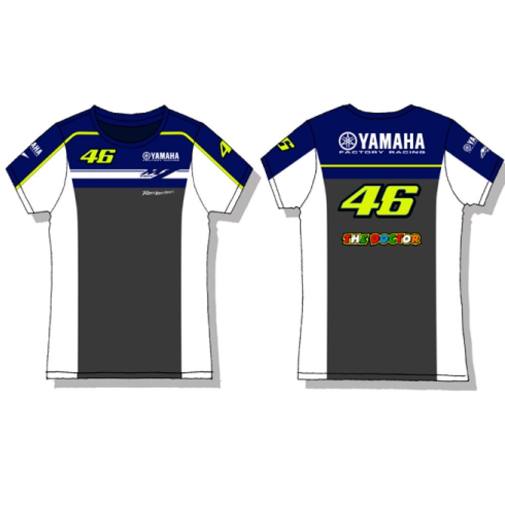 Buy Valentino Rossi M1 Yamaha Factory Racing Kids T-shirt Official ... 4fec78adec361
