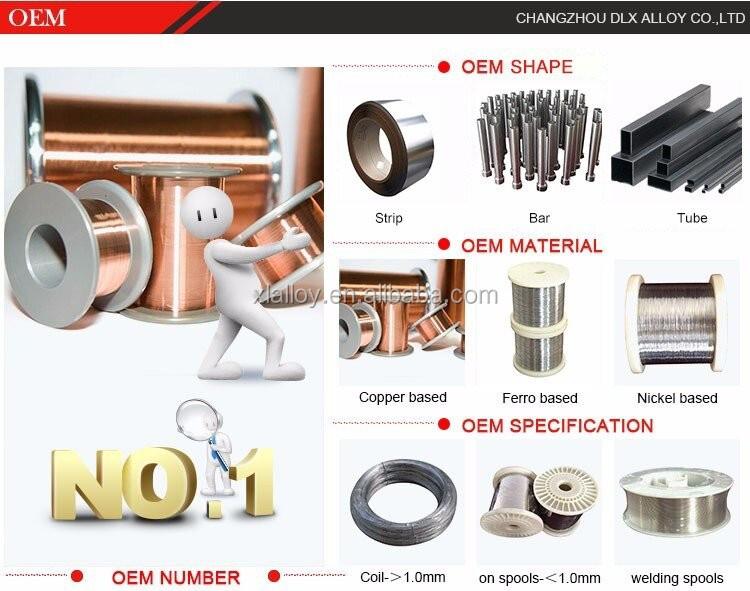 Copper Nickel Alloy (ernicu-7) Monel 400 Mig Welding Wire / Rod ...