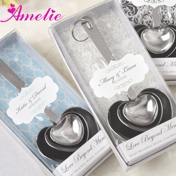 A8208 Heart Shaped Measuring Spoons Wedding Souvenirs Philippines
