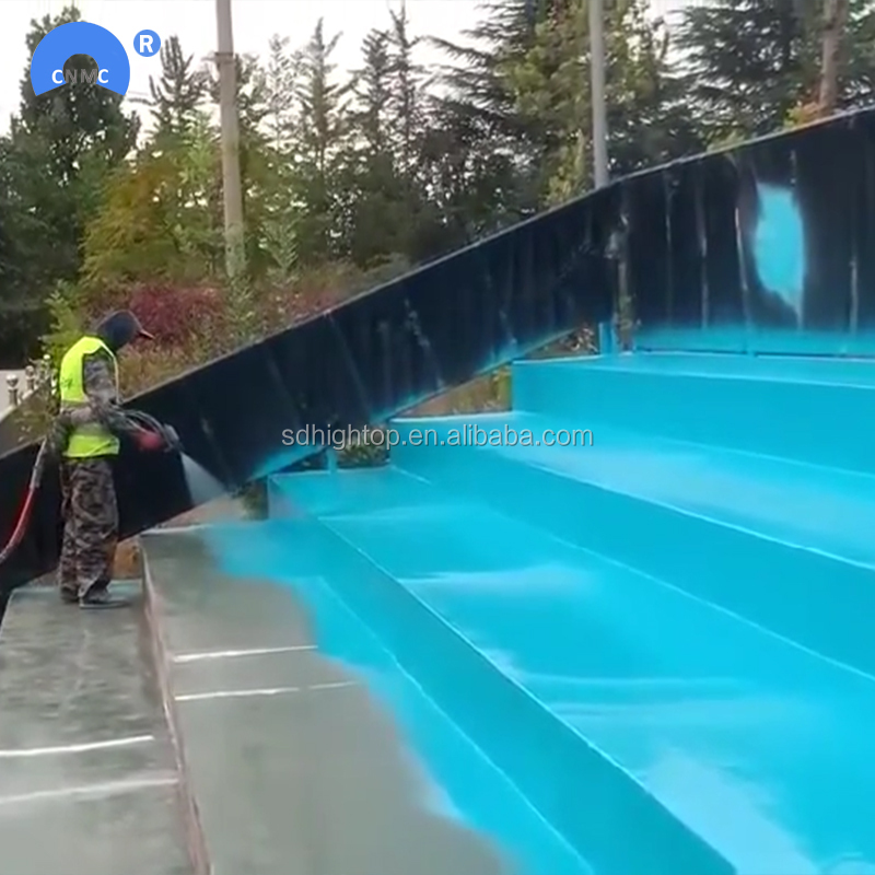Street road bridge roof wall waterproof spray 100% pure polyurea coating paint