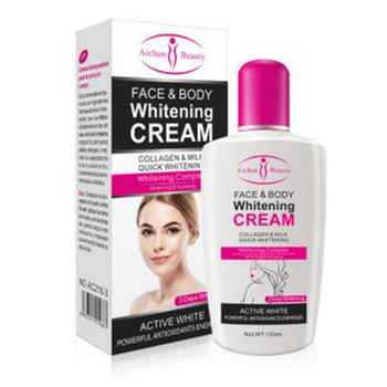 Body Cream For Dark Skin Bleaching Brightening Body Lotion Whitening Cream 120ml Private Parts Formula Armpit Whitener