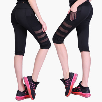 Hot sell sexy girls yoga pants gym leggings women 2018 animation