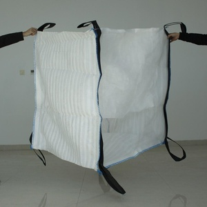 Breathable Firewood Bulk Mesh PP Big Bag For Packing Wood