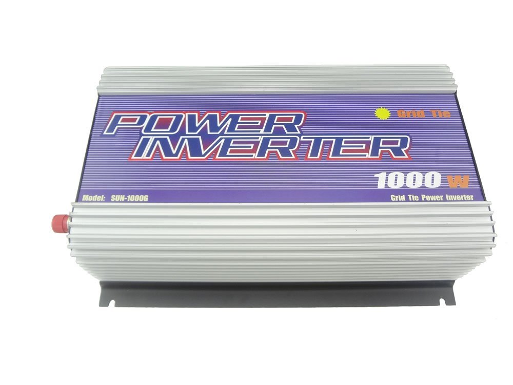 MISOL 1000W Inverter (DC22V-60V to 110 VAC), grid tied, for PHOTOVOLTAIC system