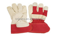 2014 Stocklots High Quality Industrial Mens Cheap Pigskin Winter Leather Gloves