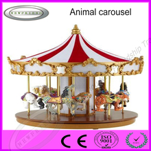 China amusement rides animal carousel for wholesale
