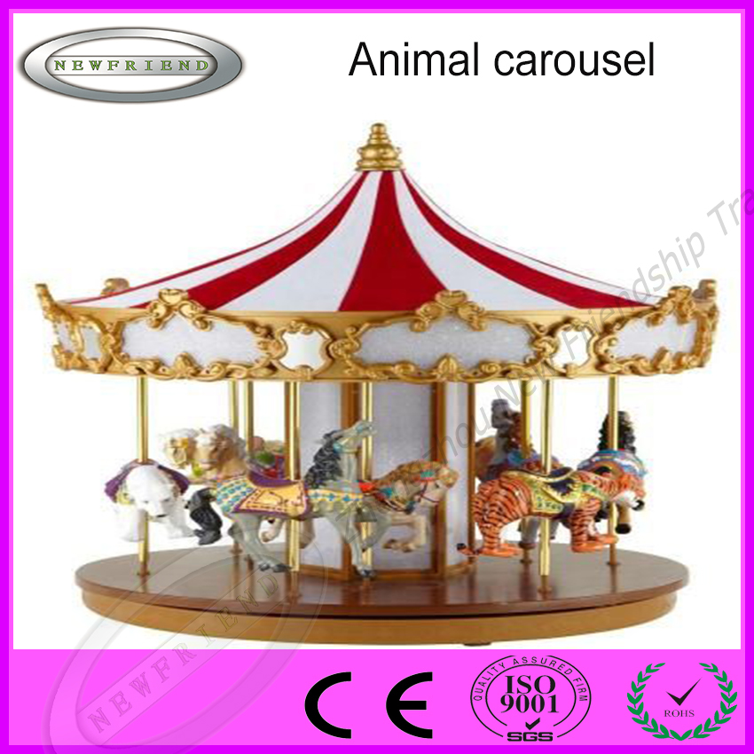 China amusement rides animal carousel merry go round for wholesale