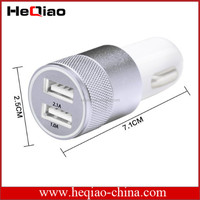 Best Quality cigarette charger Car Dual USB charger Fast charging