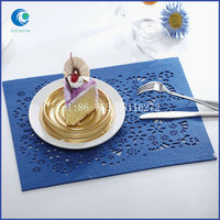 Custom good quality felt table mat for export sale