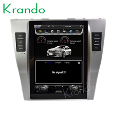 "Krando <span class=keywords><strong>Android</strong></span> 7.1 10.4 ""Tesla stile Verticale dello schermo car audio player per Toyota <span class=keywords><strong>Camry</strong></span> 2006-2012 gps multimediale sistema KD-TV133"