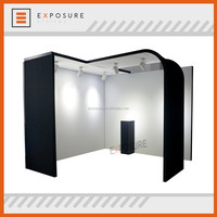 Portable 10ft Exhibition Booth Design, Trade Show Portable Cosmetic Clothes Display Booth