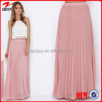 d9ab97d56 2016 nueva moda faldas plisado faldas largas para mujeres faldas largas Maxi
