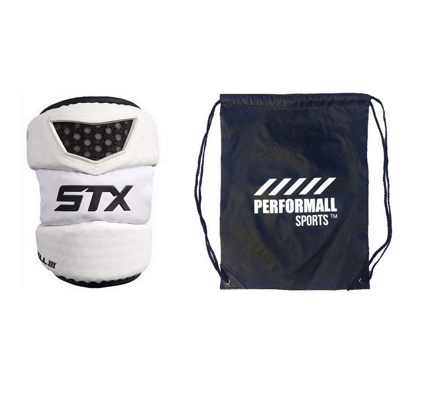 Get Quotations Stx Cell 3 Lacrosse Elbow Pad Bundle With 1 Performall Sports Bag