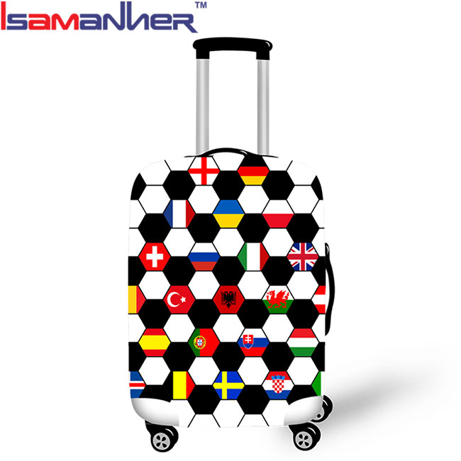 "18"" to 30"" customized <strong>LOGO</strong> travelling elastic spandex best luggage cover"