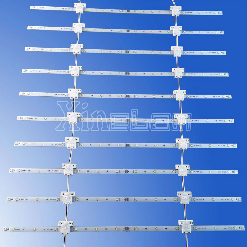 Lattice structure 12v flexible led bar mat light up large light boxes