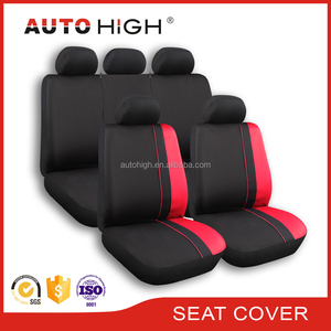 Mesh breathable Universal polyester piping design fit for most cars seat cover