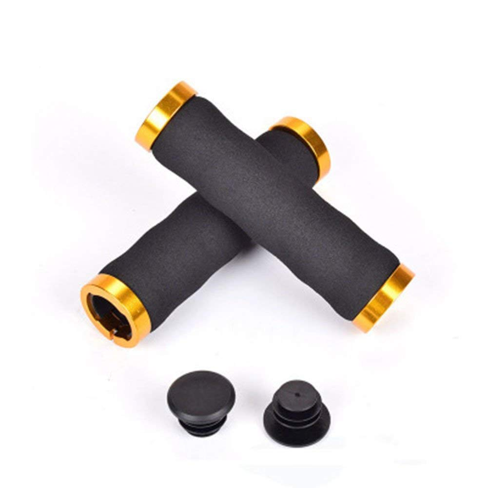 Bar Ends & Plugs Sporting Goods Enthusiastic 1pair Bike Handlebar Cap Bicycle Grips Aluminum Alloy Bike Handlebar End