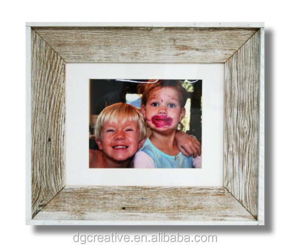 "8 x 10 picture (17.5"" x 20.5"" frame) - White Washed"