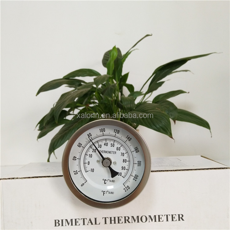 Dial Type Meat Bimetal Thermometer for Pizza Ovens BBQ