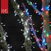 Manufactory hot slae multi color christmas outdoor led icicle lights