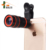 2018 Trending Products HD 8X Universal Clip-On Optical Telescope Zoom Lens Telephoto Camera Lens For Mobile Phone