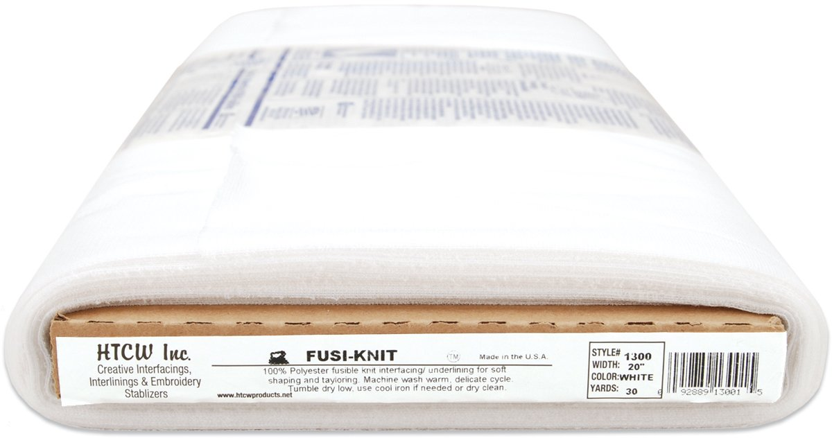 Waterfall Pellon FusiKnit Tricot Fusible Interfacing White