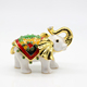 Custom Embossing Cute animal white elephant jewelry boxes
