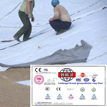 Best Waterproof Material Sodium Bentonite Geosynthetic Clay Liner For Manmade Lakes