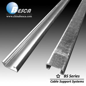 Pre Galvanized C Steel Strut Channel