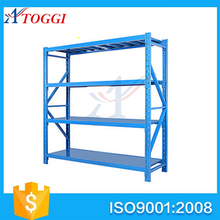 industrial medium duty warehouse battery storage rack