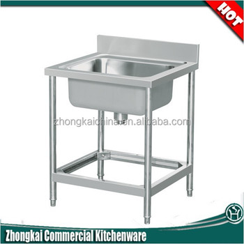 Restaurant Kitchen Sink american standard single bowl stainless steel restaurant kitchen