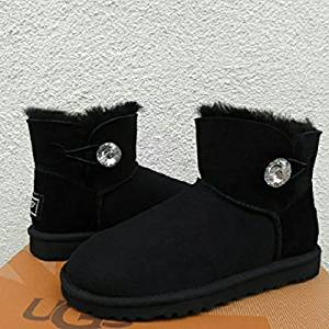 Get Quotations · Custom Uggs, Bailey Bow Tall UGG Boots, Uggs, Tall Uggs, Black Bailey
