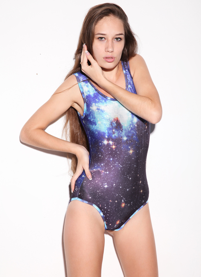 fabfb50f49809 Buy ONE PIECE BLACK MILK GALAXY SPACE PRINT 2015 Women Bathing Suit Monokin  Bodysuit One Piece Swimsuit free shipping in Cheap Price on m.alibaba.com